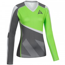 "Ladie's ""Skeleton"" Team Baselayer Long Sleeve charcoal/green"