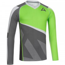 "Men's ""Skeleton"" Team Baselayer Long Sleeve charcoal/green"