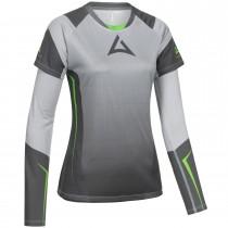 """Ladie's """"HERO"""" Team Jersey Bundle grey/green"""