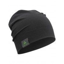 "Cotton Beanie ""SLOUCH"" black"
