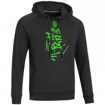 "Men's Bold Hoodie ""AIM FOR MORE"" black"