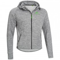 "Men's Workout Hoodie ""CURL"" grey"
