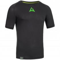 """Men's Workout Shirt """"CRUNCH"""" black"""