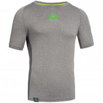 """Men's Workout Shirt """"CRUNCH"""" grey"""