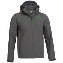 """Unisex Shell Jacket """"MODULAR"""" grey"""