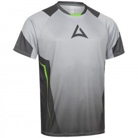 "Men's ""HERO"" Team Jersey Short Sleeve grey/green"