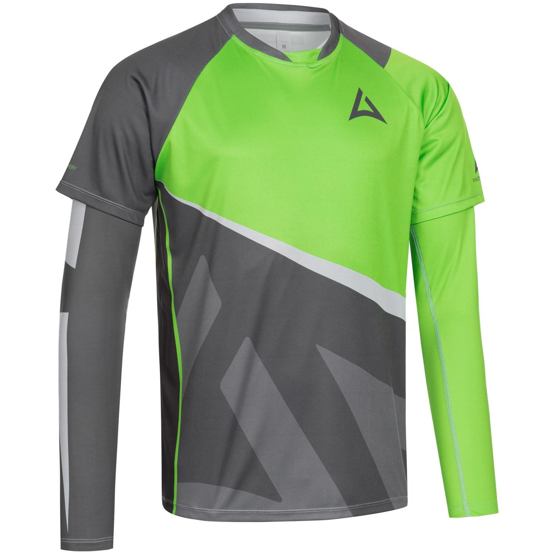 "Men's ""Skeleton"" Team Jersey Bundle charcoal/green"