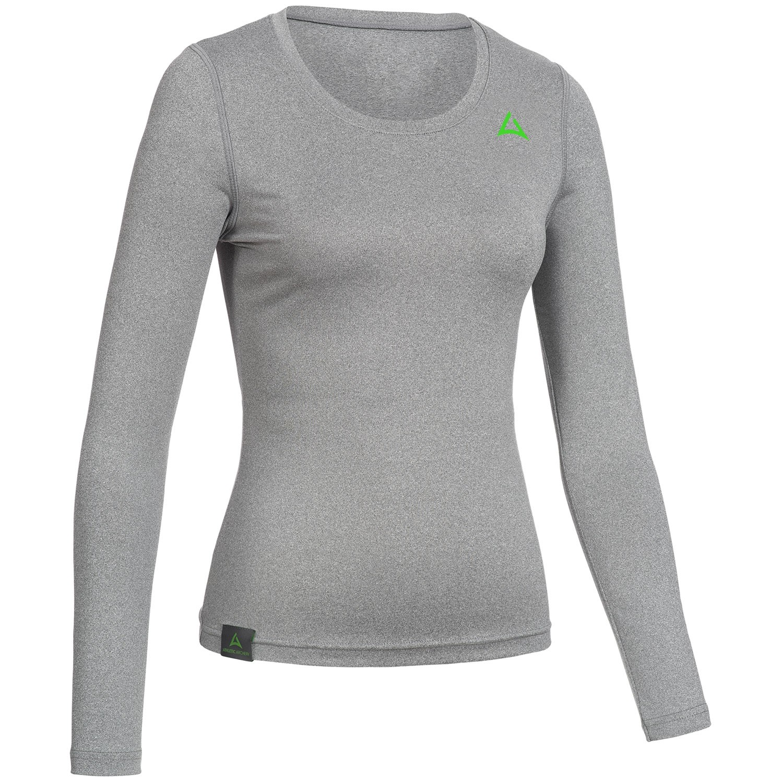 "Ladie's Baselayer Long Sleeve Shirt ""CAMPFIRE"" grey"