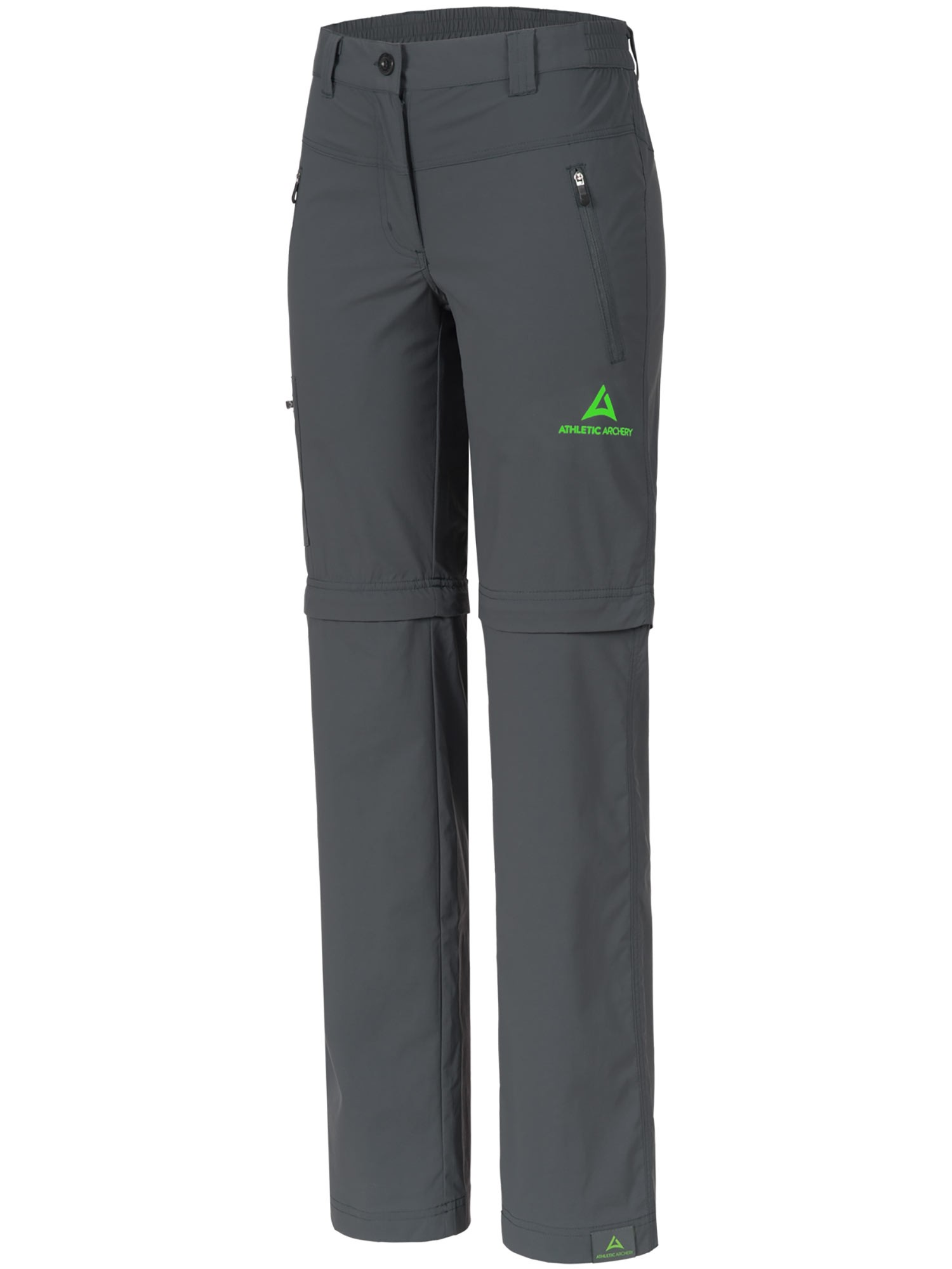 """Ladie's Zip-Off Pants """"HIKE"""" grey"""