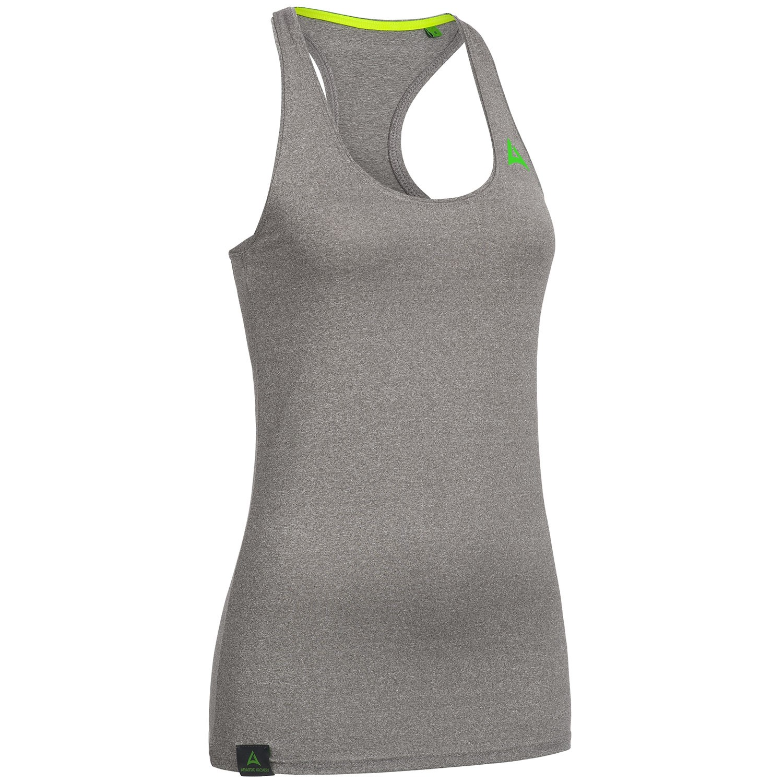 "Ladie's Racer Back Vest ""SPEED"" grey"