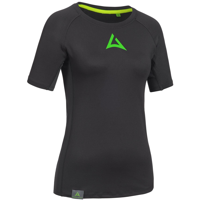"Ladie's Workout Shirt ""CRUNCH"" black"