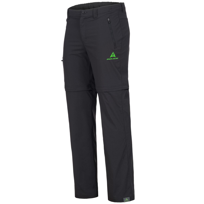 "Men's Zip-Off Pants ""HIKE"" black"
