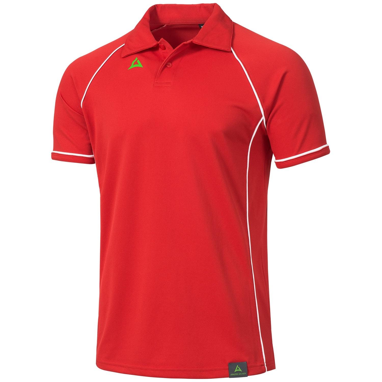 """Men's Tournament Polo """"PODIUM"""" red/white"""