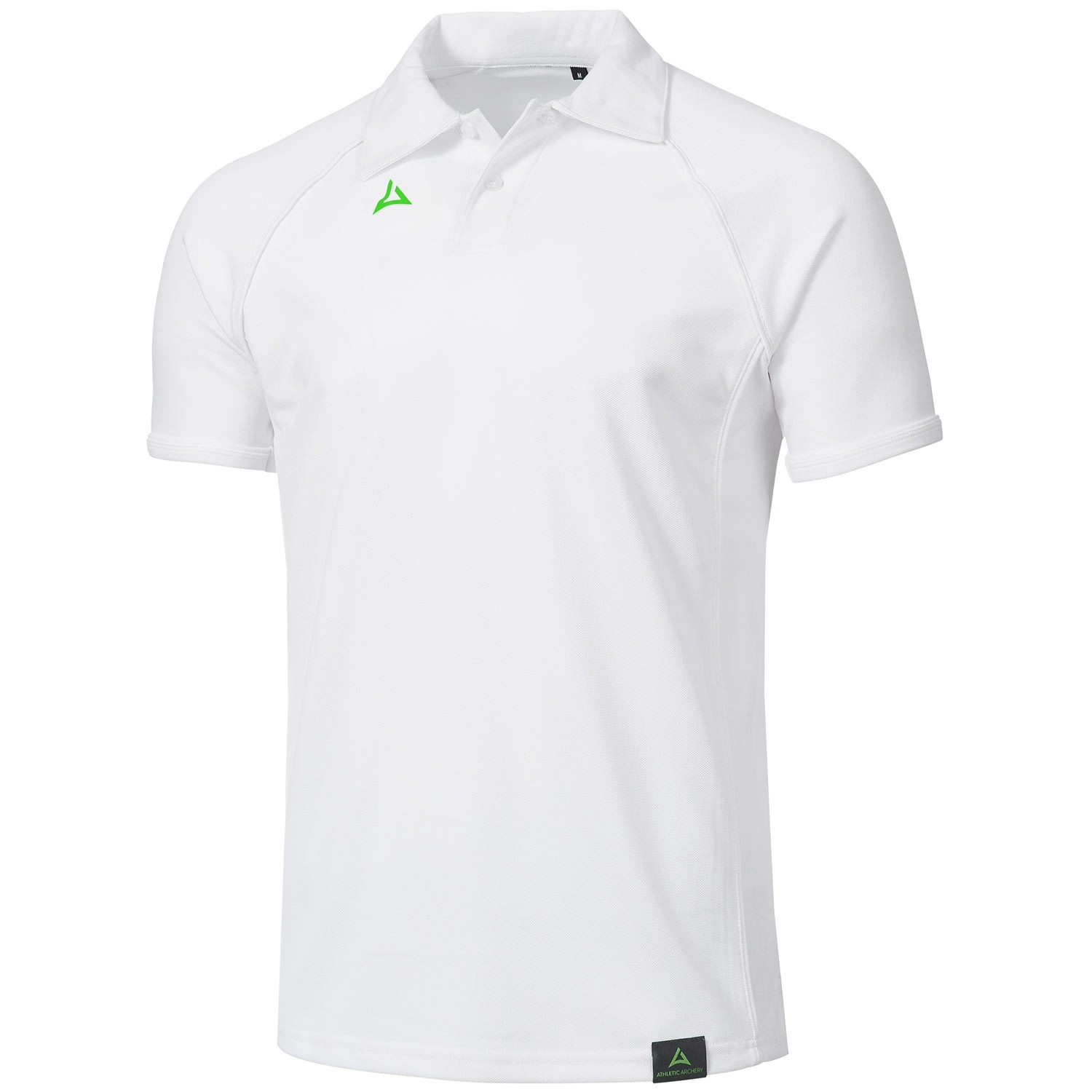 "Men's Tournament Polo ""PODIUM"" white/white"