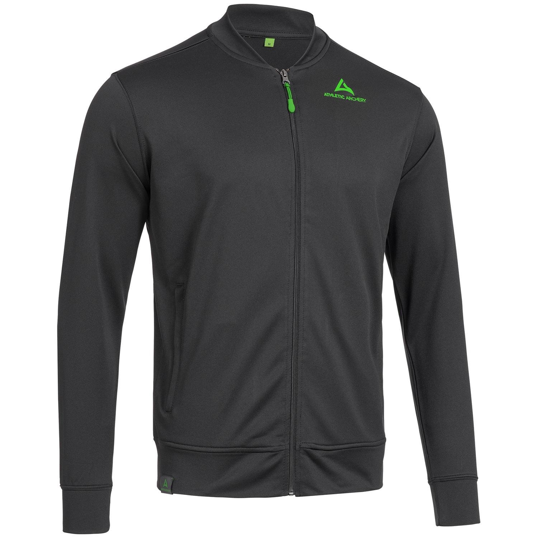 "Unisex Workout Jacket ""BACKSPIN"" black"