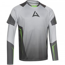 "Men's ""HERO"" Team Jersey Bundle grey/green"