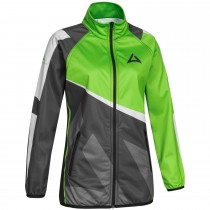 Ladies SKELETON Team Jacket grey/green