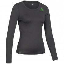 "Ladie's Baselayer Long Sleeve Shirt ""CAMPFIRE"" black"