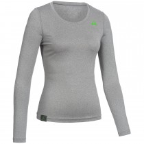 "Ladie's Baselayer Long Sleeve Shirt ""CAMPFIRE"" grey"