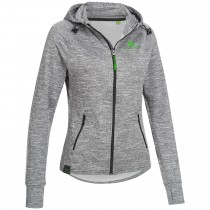 "Ladie's Workout Hoodie ""CURL"" grey"