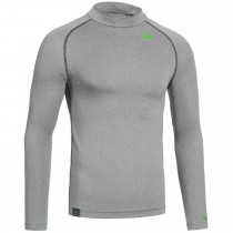 "Men's Baselayer Long Sleeve Shirt ""CAMPFIRE"" grey"