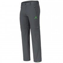 "Men's Zip-Off Pants ""HIKE"" grey"