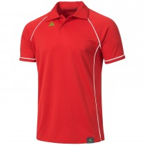"Men's Tournament Polo ""PODIUM"" red/white"