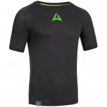 "Men's Workout Shirt ""CRUNCH"" black"