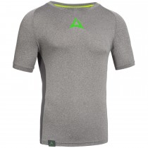 "Men's Workout Shirt ""CRUNCH"" grey"