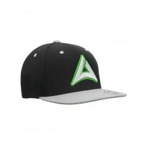 "Snapback Base Cap ""HEADBANGER"" black/grey"